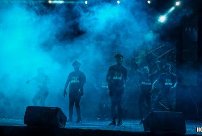llollarena students performing on stage show ( llollarena dance studio in bhopal )